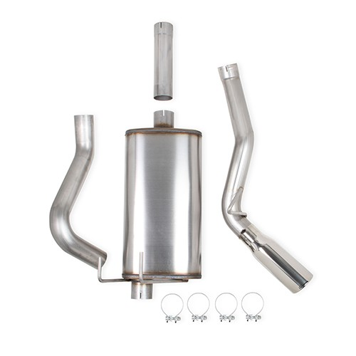 2009-2017 Dodge Ram 1500 V8, 5.7L Stainless Steel Cat-Back Single Side Exit Exhaust System