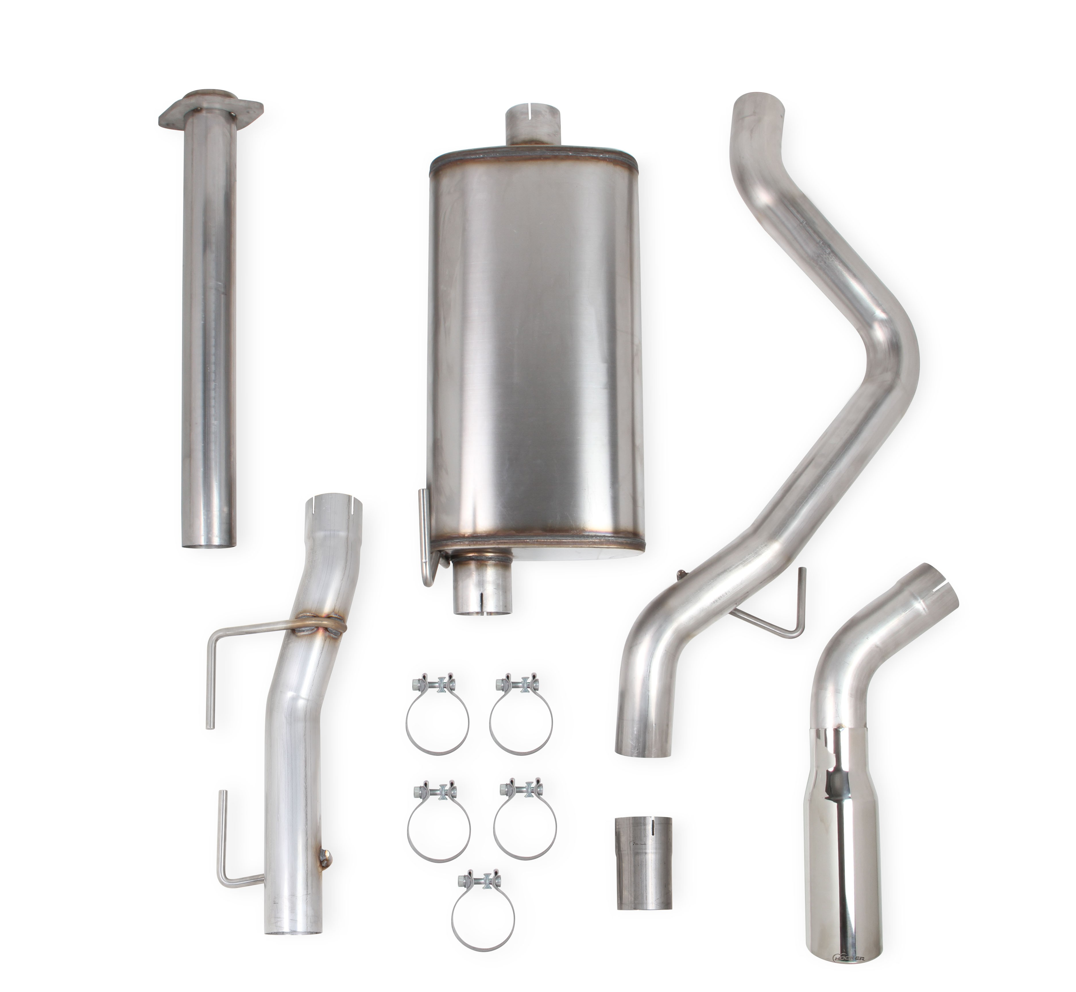 2011-2014 Ford F150 EcoBoost 3.5L V6, Stainless Steel Cat-Back, Single Exit