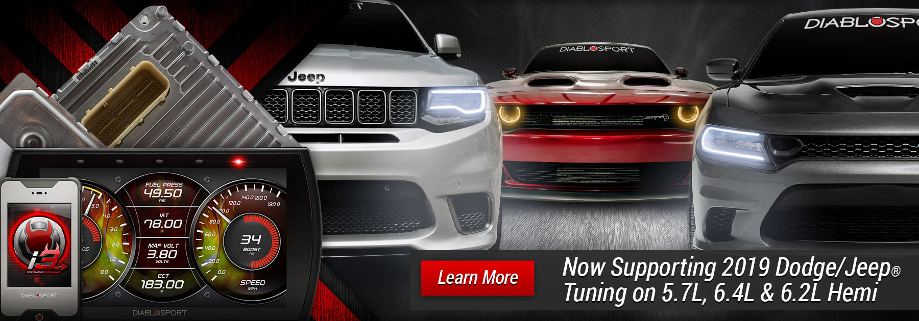 2018 Dodge Challenger & Charger Tuning Products