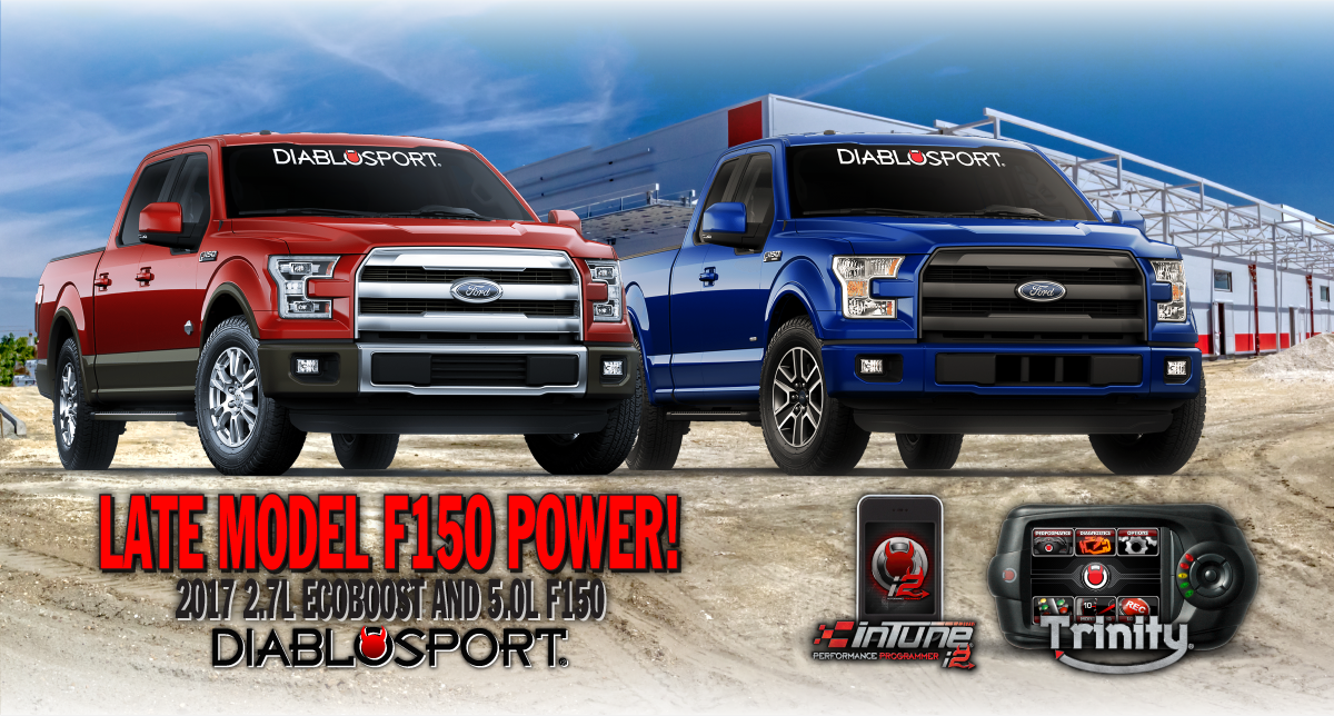 2017 ford f150 2 7l 5 0l now supported diablosport. Black Bedroom Furniture Sets. Home Design Ideas
