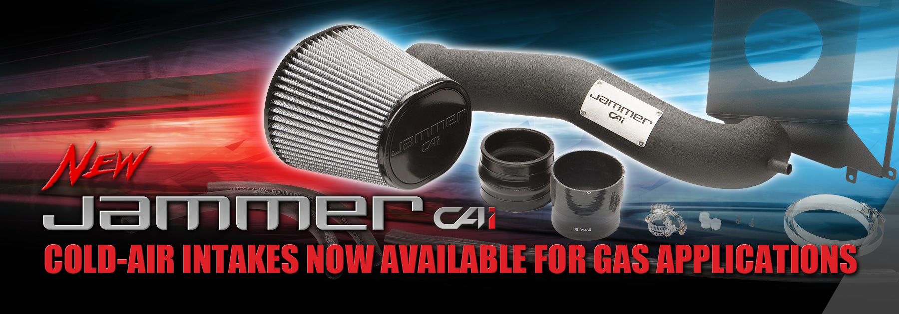 Diablosport jammer cold air intake systems