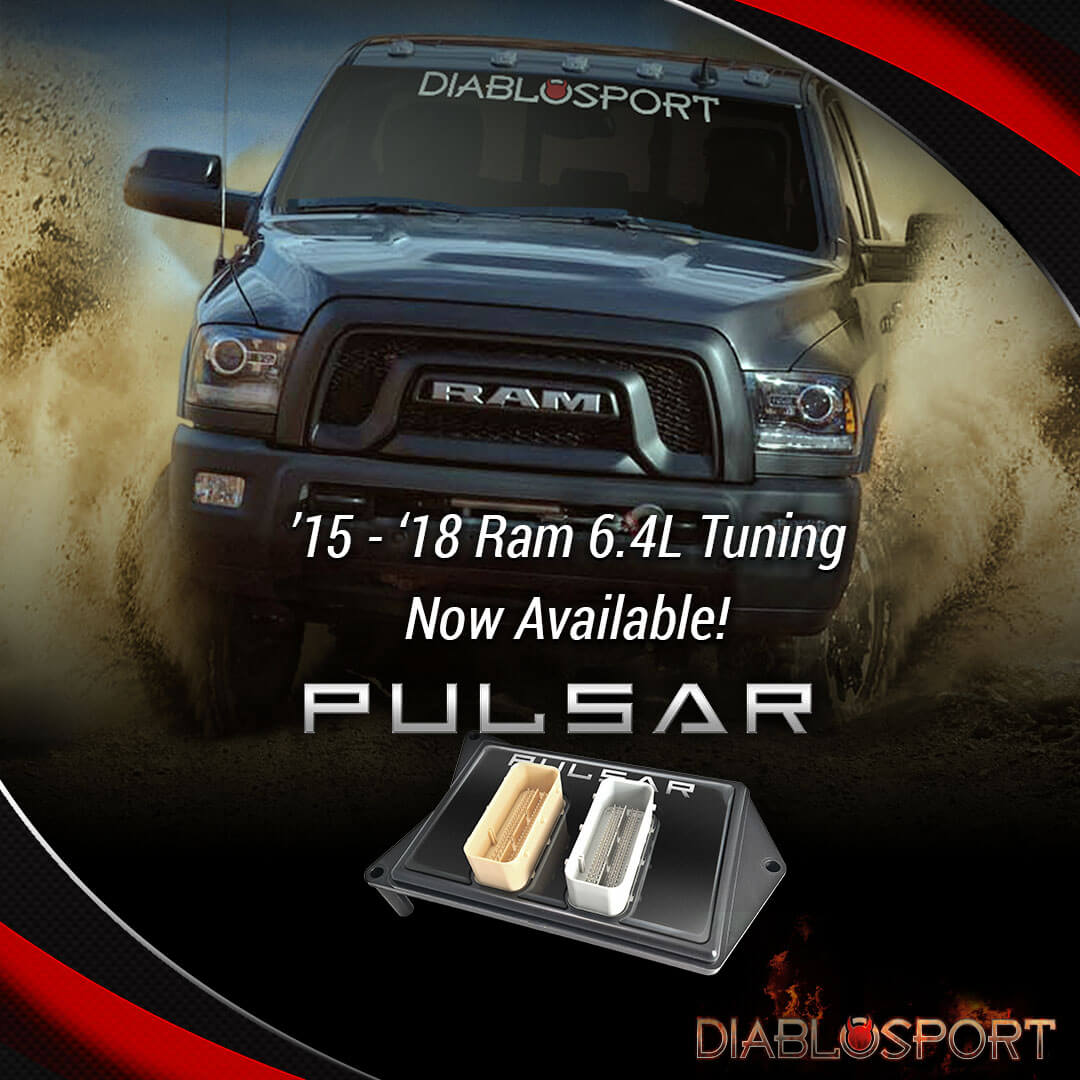 Pulsar Now Supporting 2017 2018 Ram 6 4l