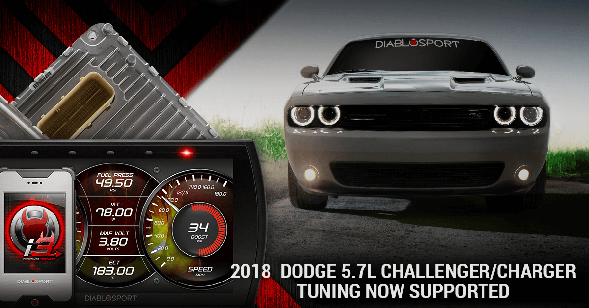 2018 Dodge Challenger & Charger Performance Tuning