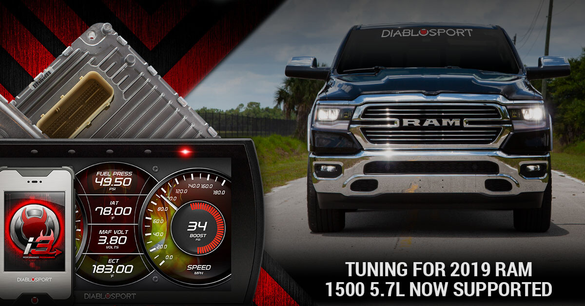 Dodge Ram 1500 Accessories >> 2019 Ram 1500 5.7L Tuning Now Supported on inTune i3 and Trinity 2