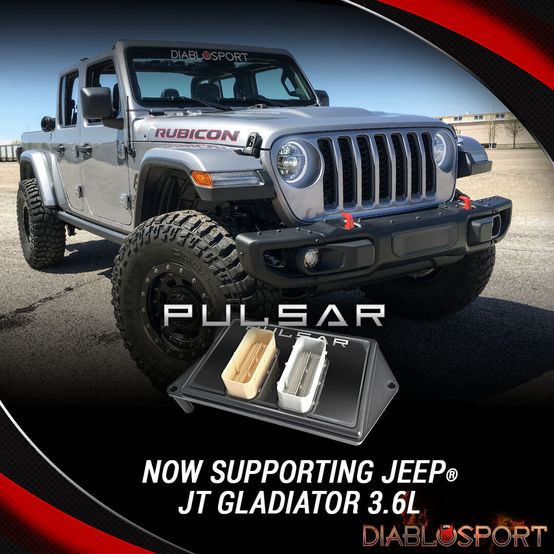 Pulsar for 2018-19 Jeep Wrangler® JL & 2020 Gladiator JT Now Available