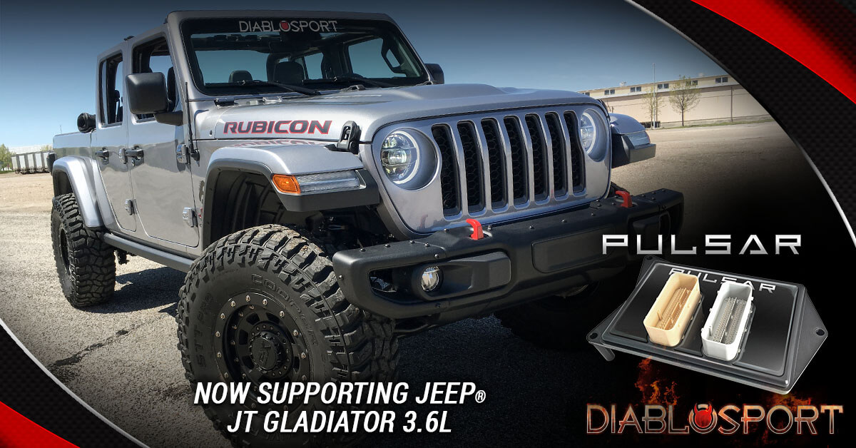 Ram 1500 Exhaust >> DiabloSport Pulsar for Gladiator JT 3.6L Is Now Available