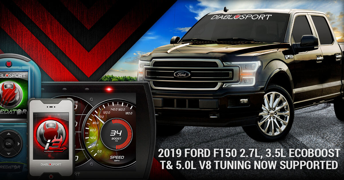 2.7 Ecoboost Tuning >> 2019 Ford F150 2 7l 3 5l Ecoboost 5 0l V8 Tuning Now