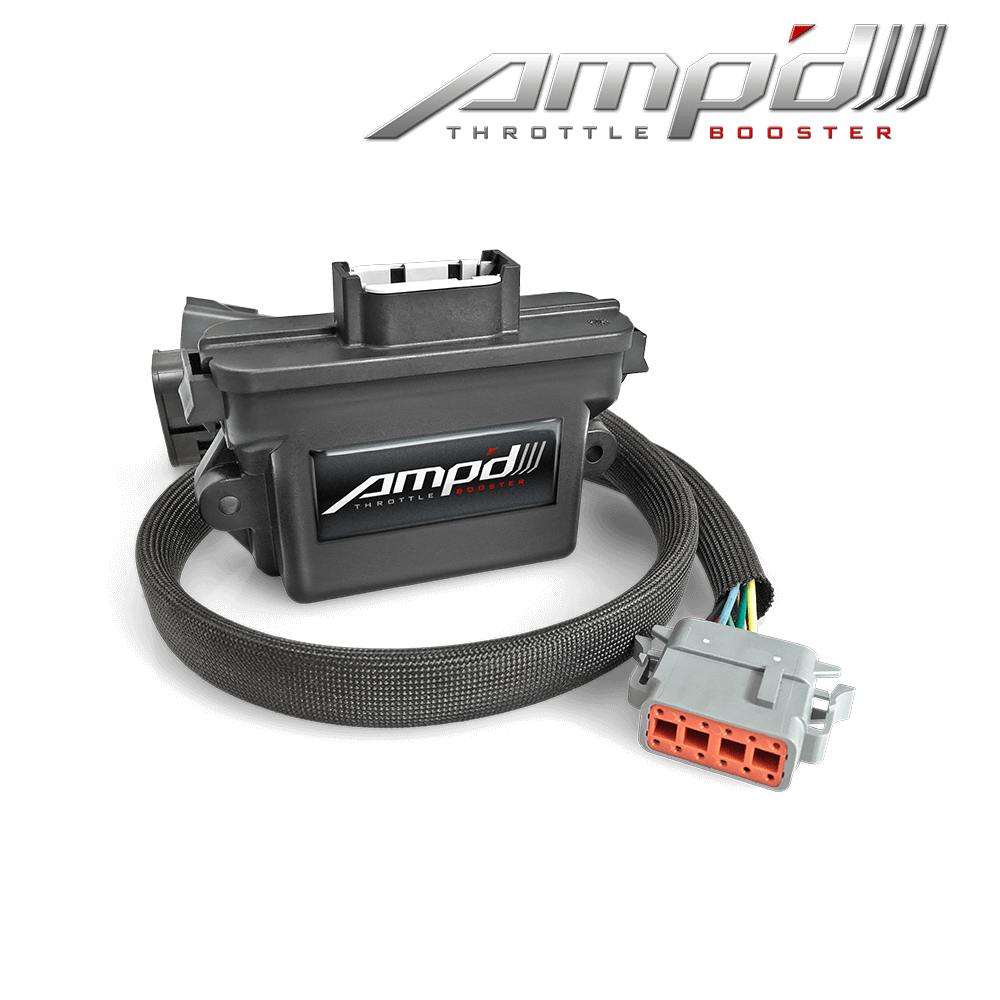 Amp'D Throttle Booster 2011-2018 Ford 6.7L Power Stroke & 2018 Ford F-150 3.0L Power Stroke