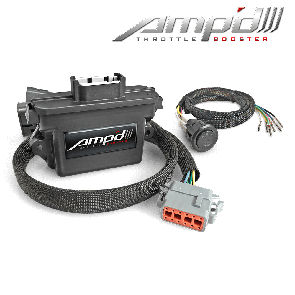 Amp'D Throttle Booster Kit with Power Switch 2011-2018 Ford 6.7L Power Stroke & 2018 Ford F-150 3.0L Power Stroke