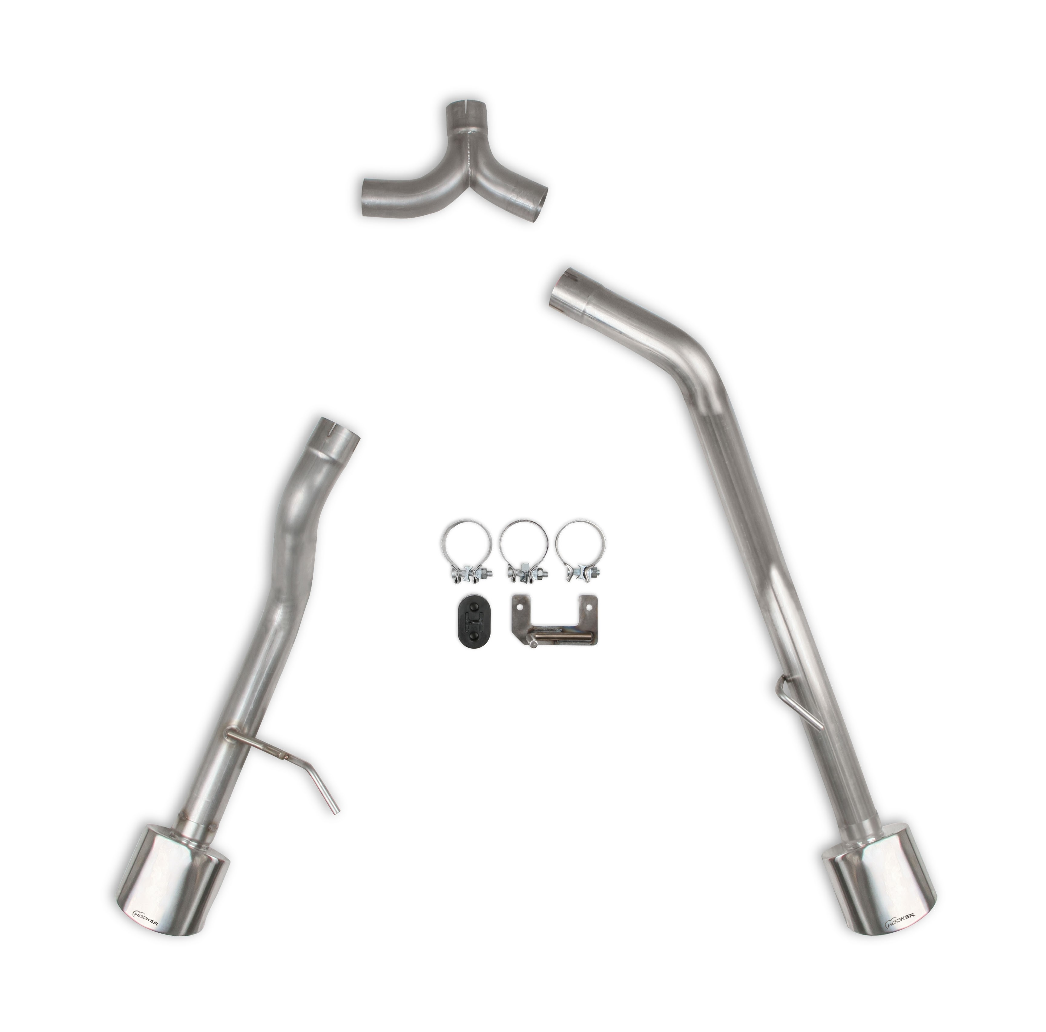 2020 Jeep Gladiator (JT) 3.6L V6, 2.5 inch Dual Exit Axle-Back Exhaust , 409SS