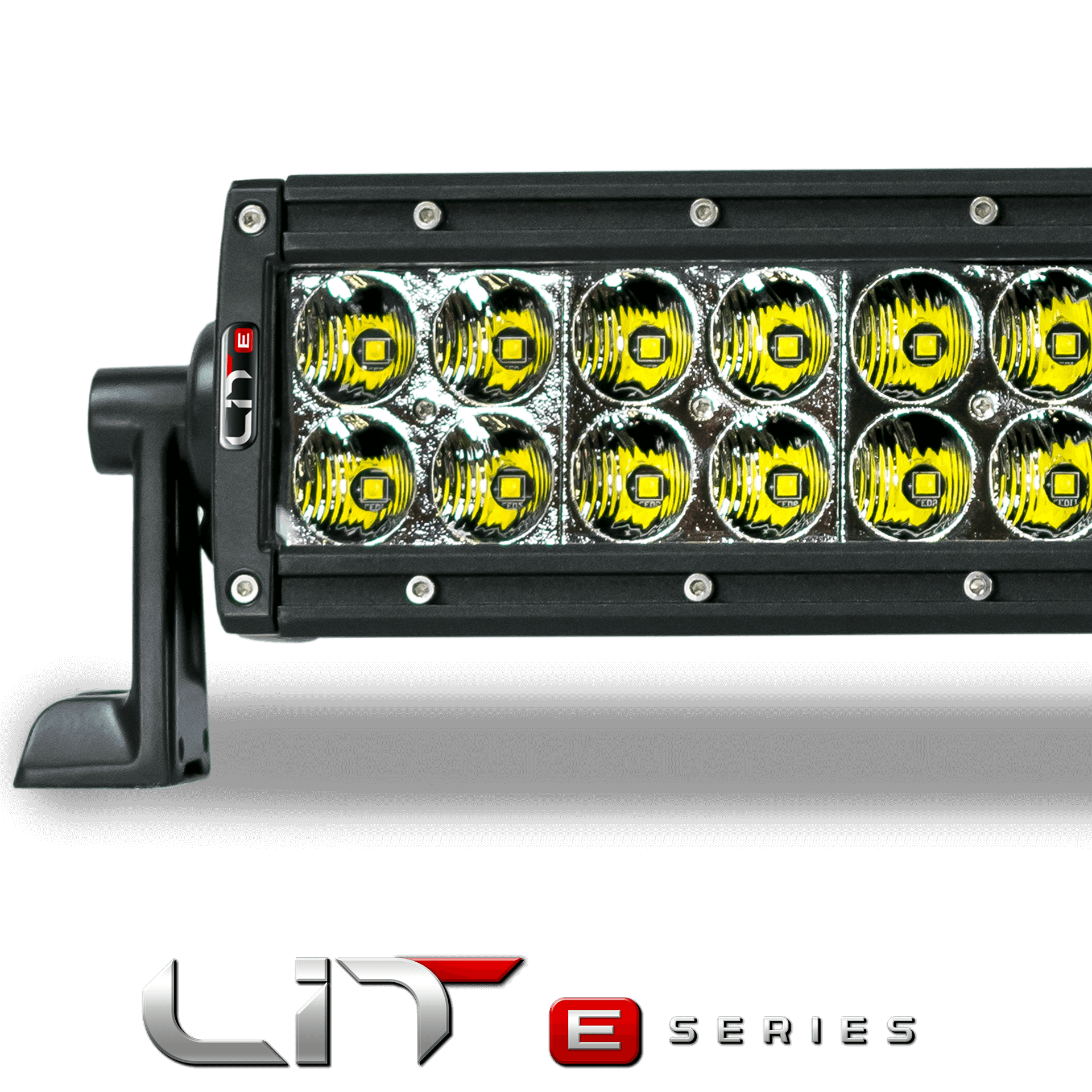 LIT E-Series Curved 40 Double Row 5 Watt Combo